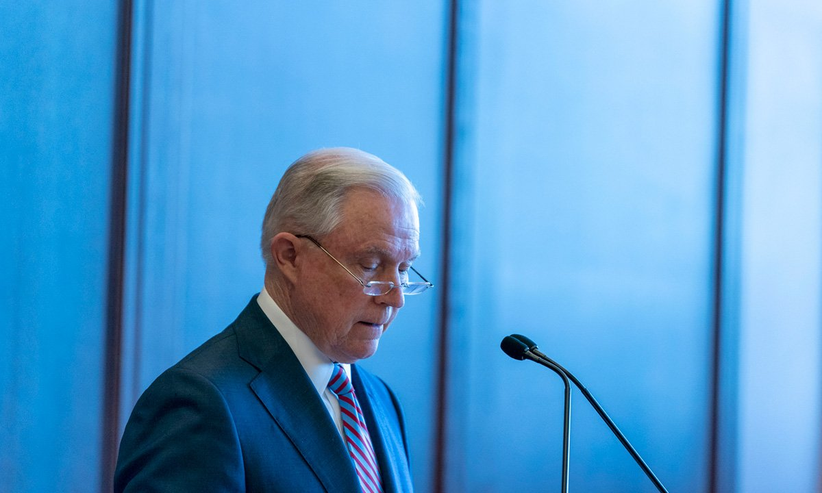 AG Sessions Says States Are Free To Legalize Marijuana, But DOJ Can Enforce Federal Law
