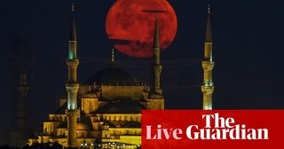 Blood moon 2018 - follow the lunar eclipse – live. Looks unique in every country