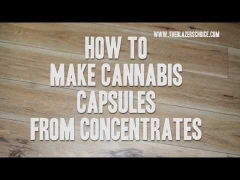 DIY Cannacaps w/ Video