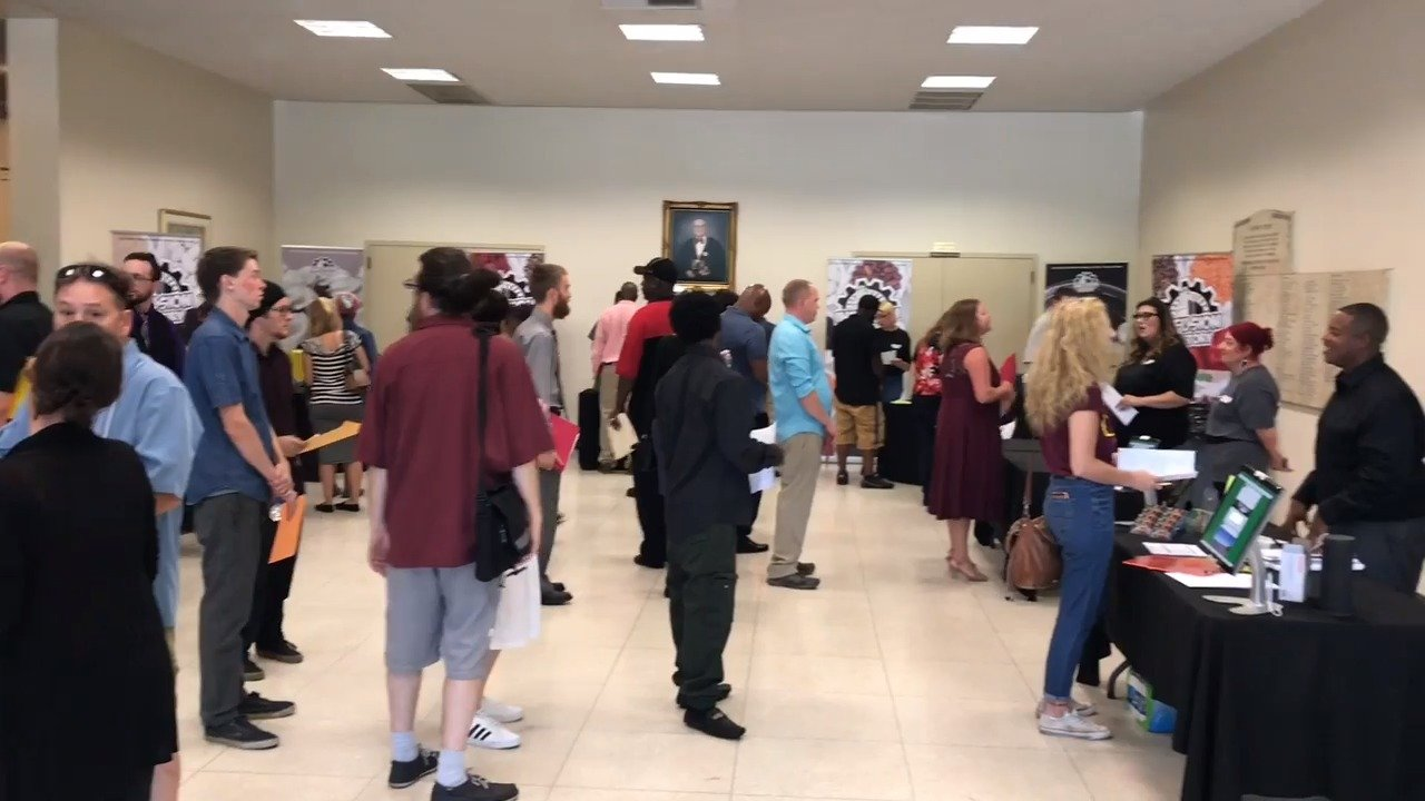 High turn out for cannabis job fair in East Sacramento