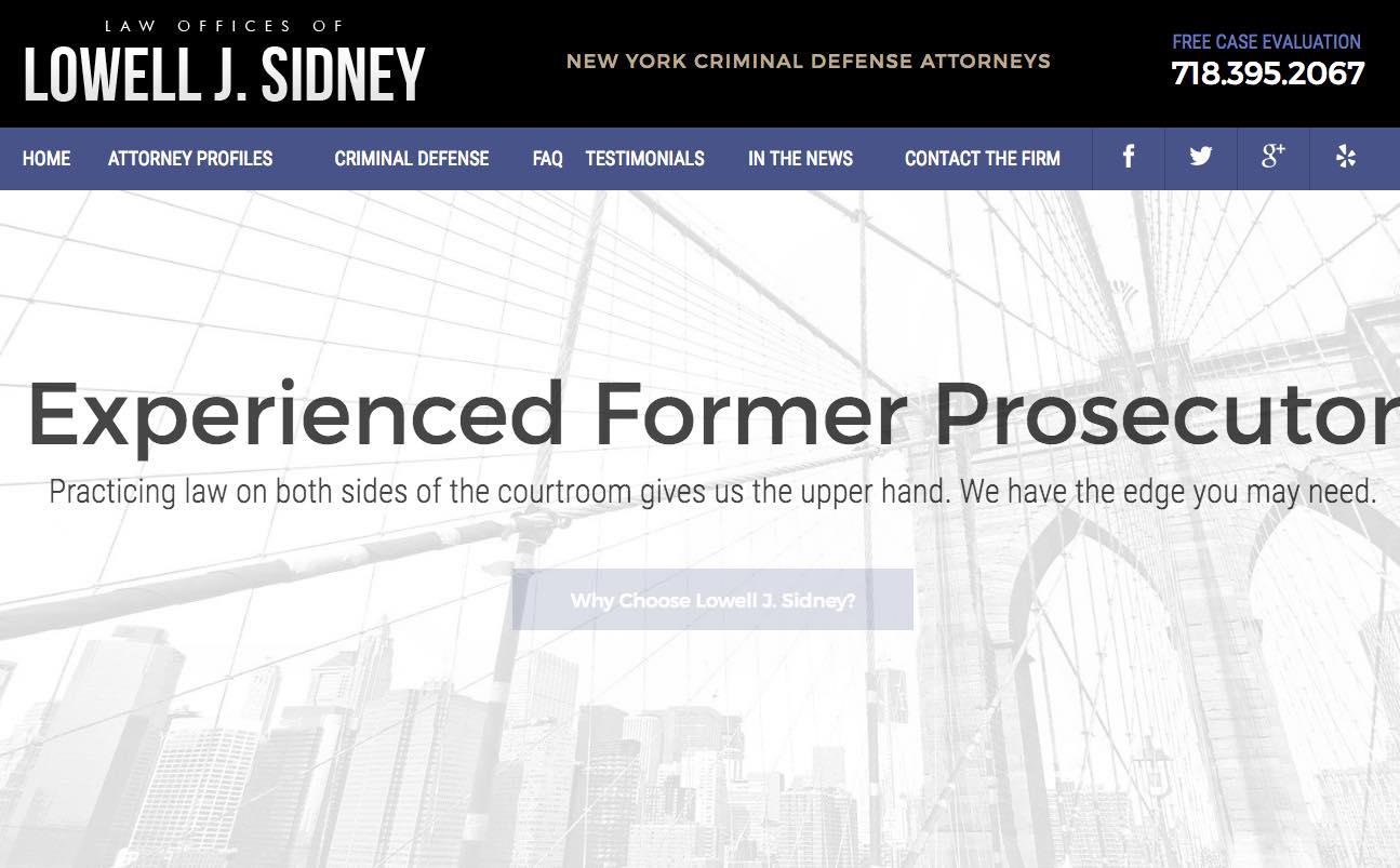 Lowell J. Sidney - Lawyer - NYC