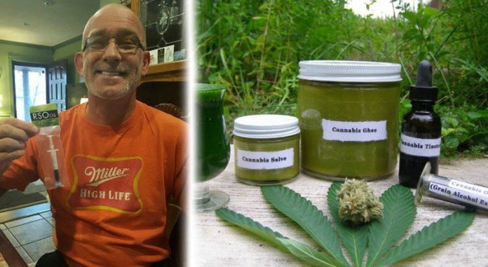 50-Year-Old Man Cures Lung Cancer With Cannabis Oil, Stuns CBS News | urhealthinfo