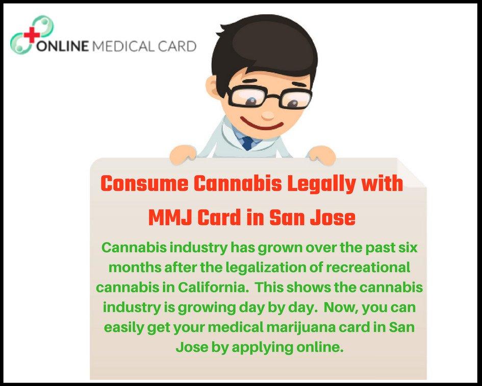 Consume Cannabis Legally with Medical Marijuana Card in San Jose
