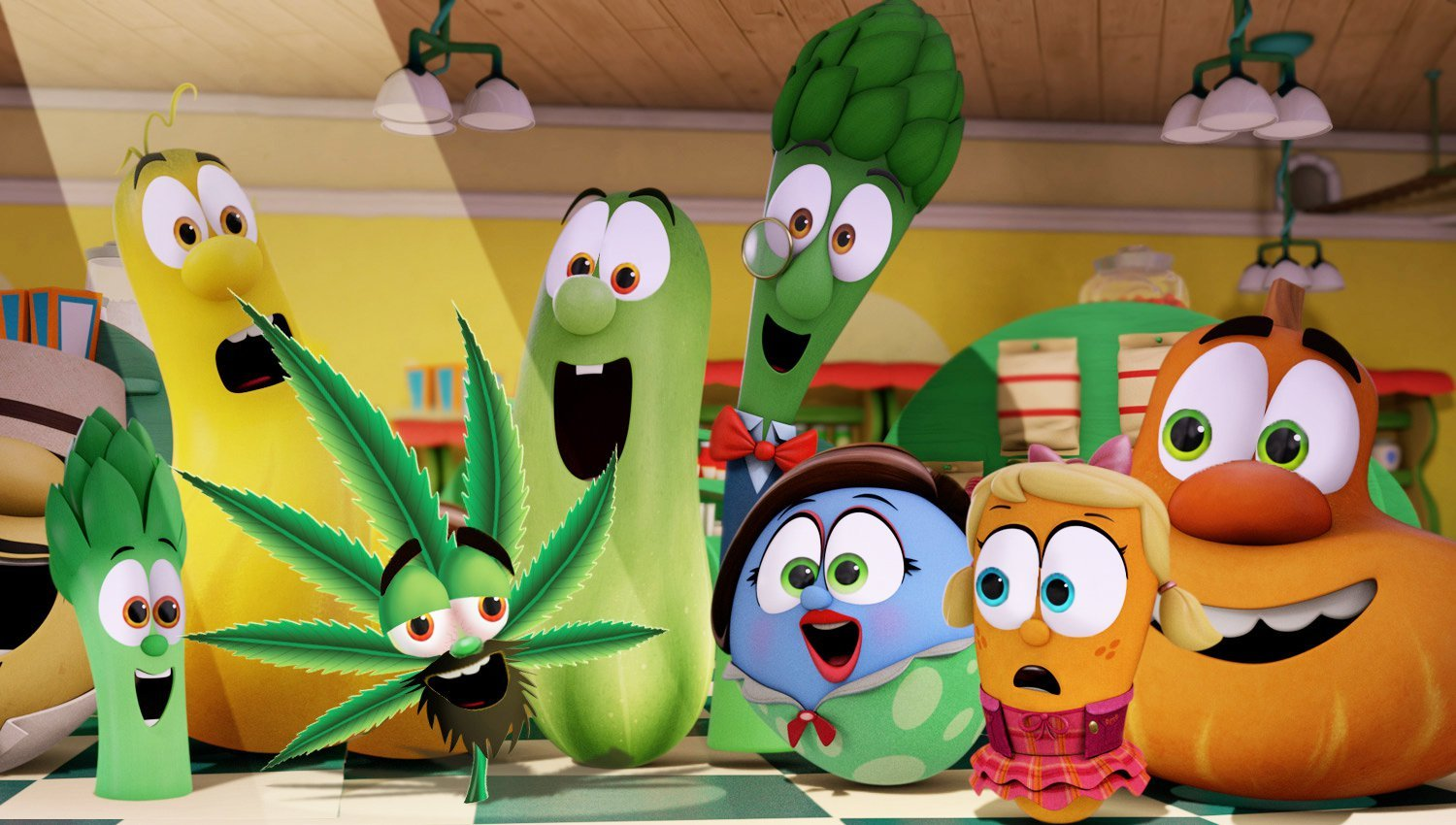 Fake Veggietales Cannabis Carl character announcement has folks on Facebook freaking out.
