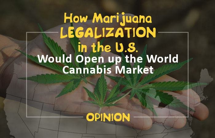 How Marijuana Legalization in the United States Would Open up the World Cannabis Market [Opinion]