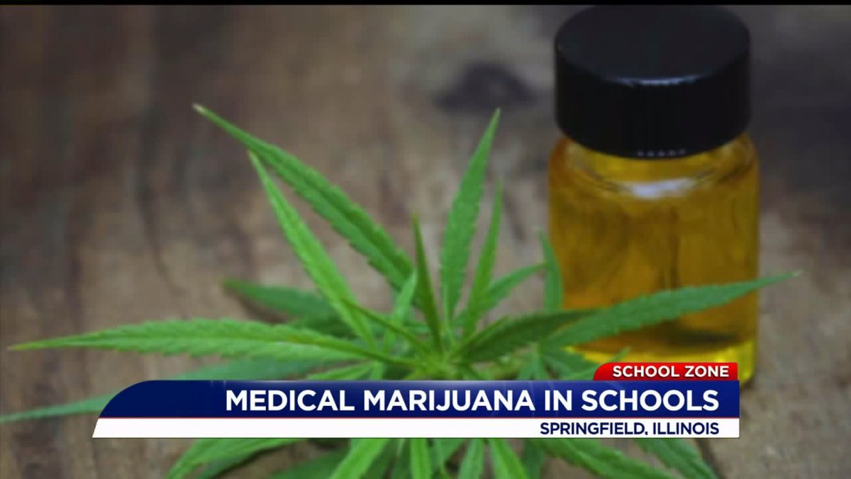 Illinois governor OKs allowing medical cannabis at schools