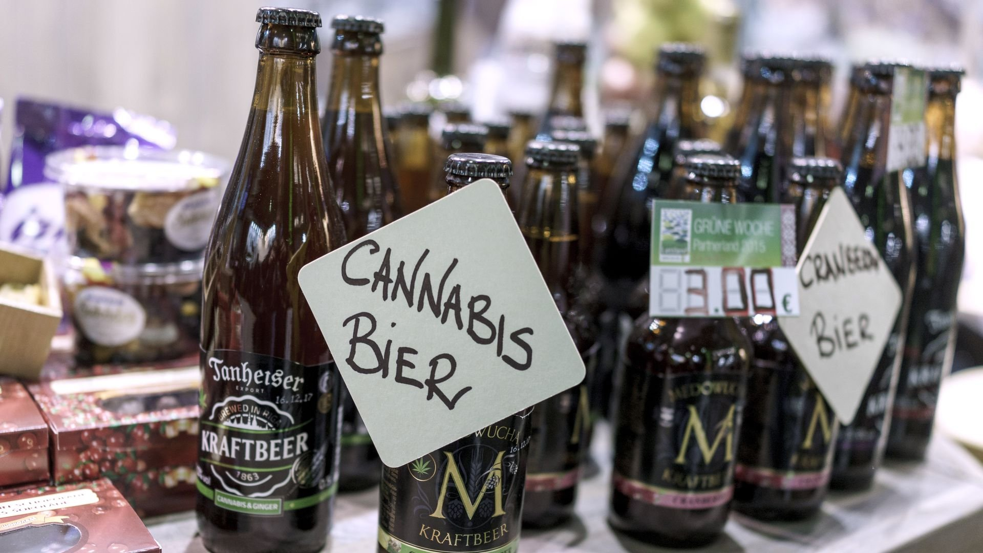 Alcohol companies are seeing green in weed