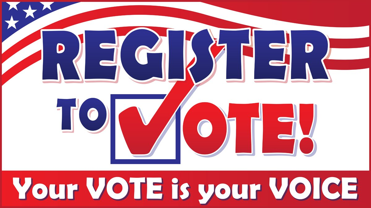Exercise your civic duty on National Voter Registration Day