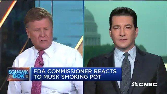 FDA Commissioner Dr. Scott Gottlieb discusses his agency's investigation into marijuana usage.