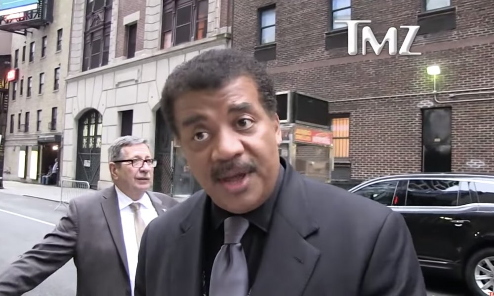 Neil deGrasse Tyson explains why you shouldn't smoke weed in space