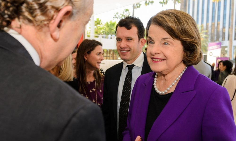 Recovering drug warrior Sen. Dianne Feinstein JUST cosponsored a major marijuana reform bill