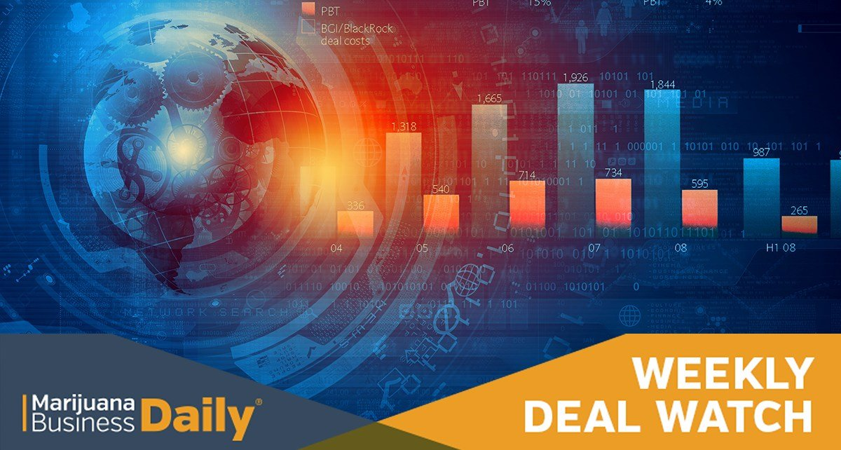 Weekly Deal Watch: Cannabis real estate a hot target for investment