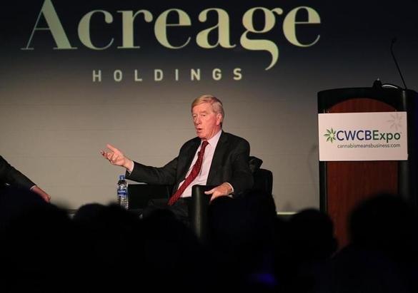 Bill Weld: Former governor, now marijuana hype man