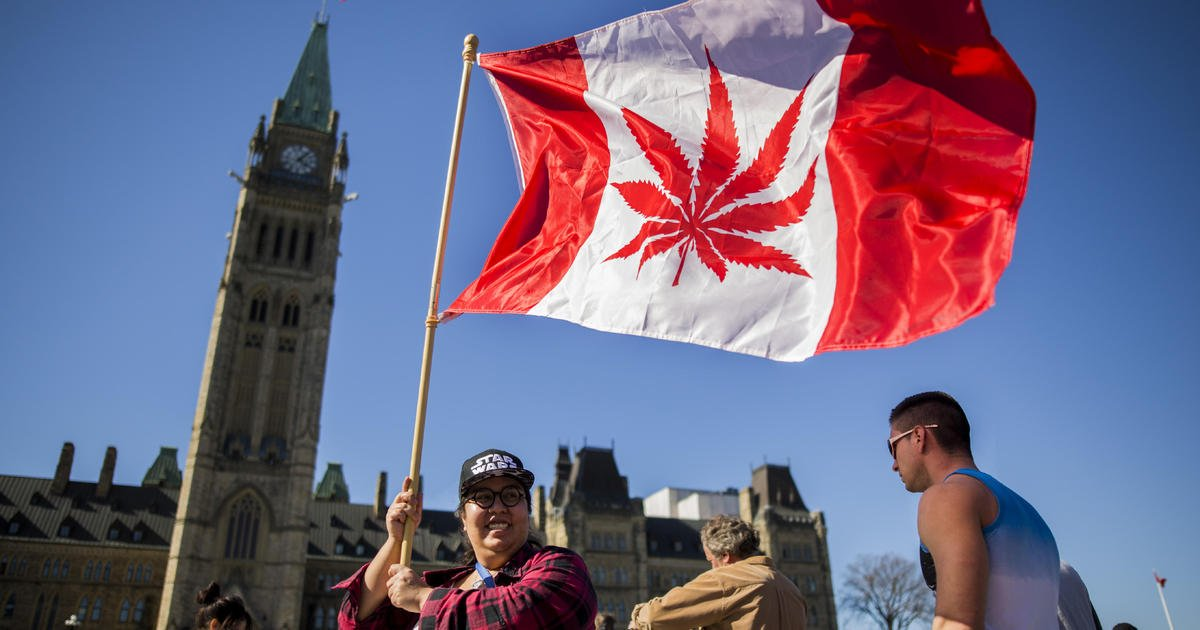 Canada is legalizing adult use of marijuana on Oct. 17 and will be the second and largest country to do so.