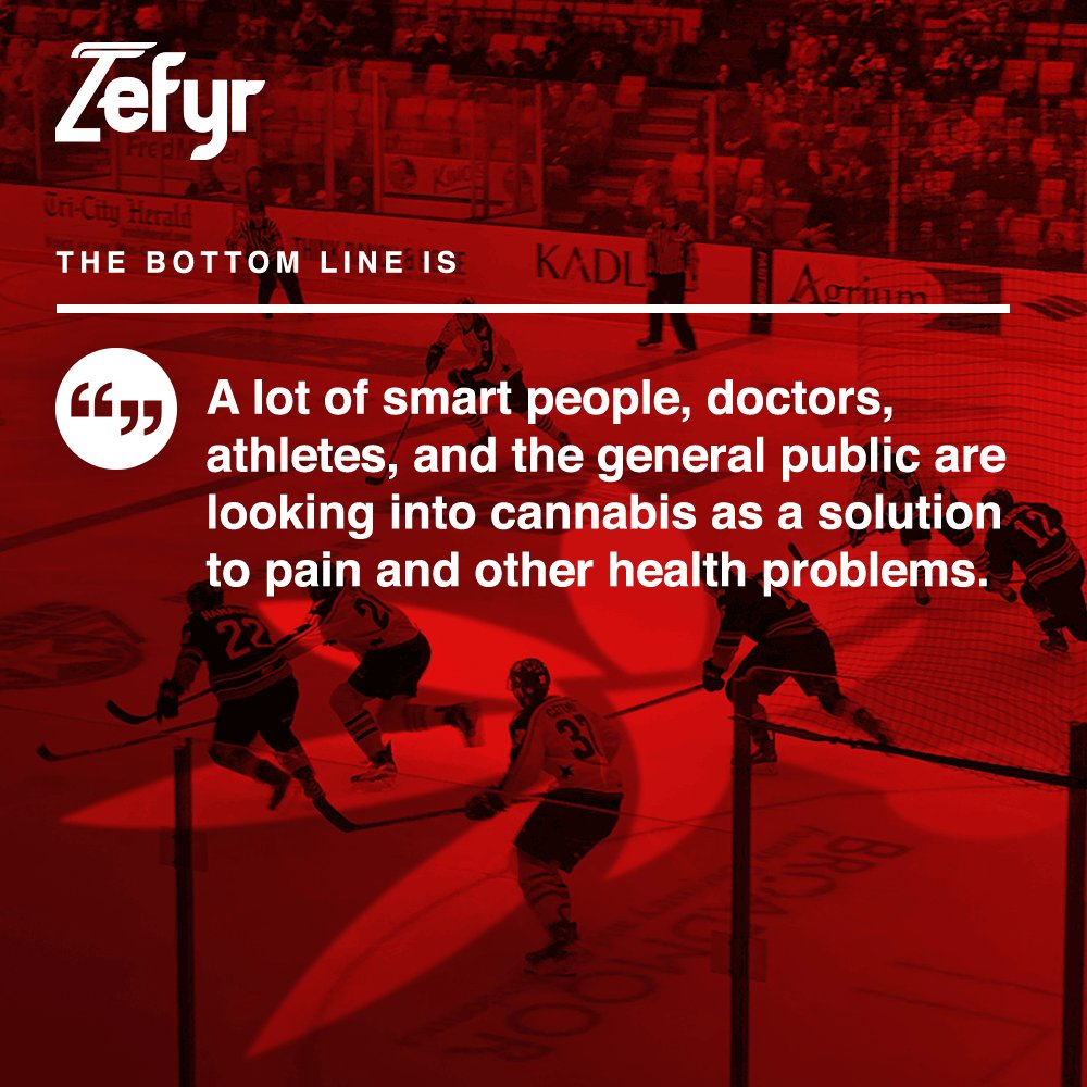 Healy: If Backed by Science, NHL Alumni Association 'All-In' on Cannabis