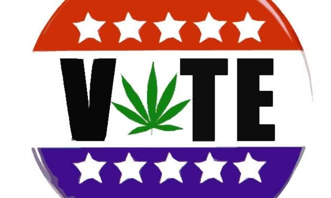 PSA: People in states with marijuana on the ballot can vote early. No need to wait until November 6. Vote now so you don't forget later!