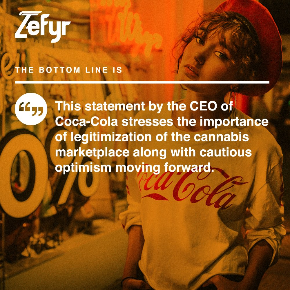Coca-Cola CEO Says He Has No Plans to Enter the Cannabis Space
