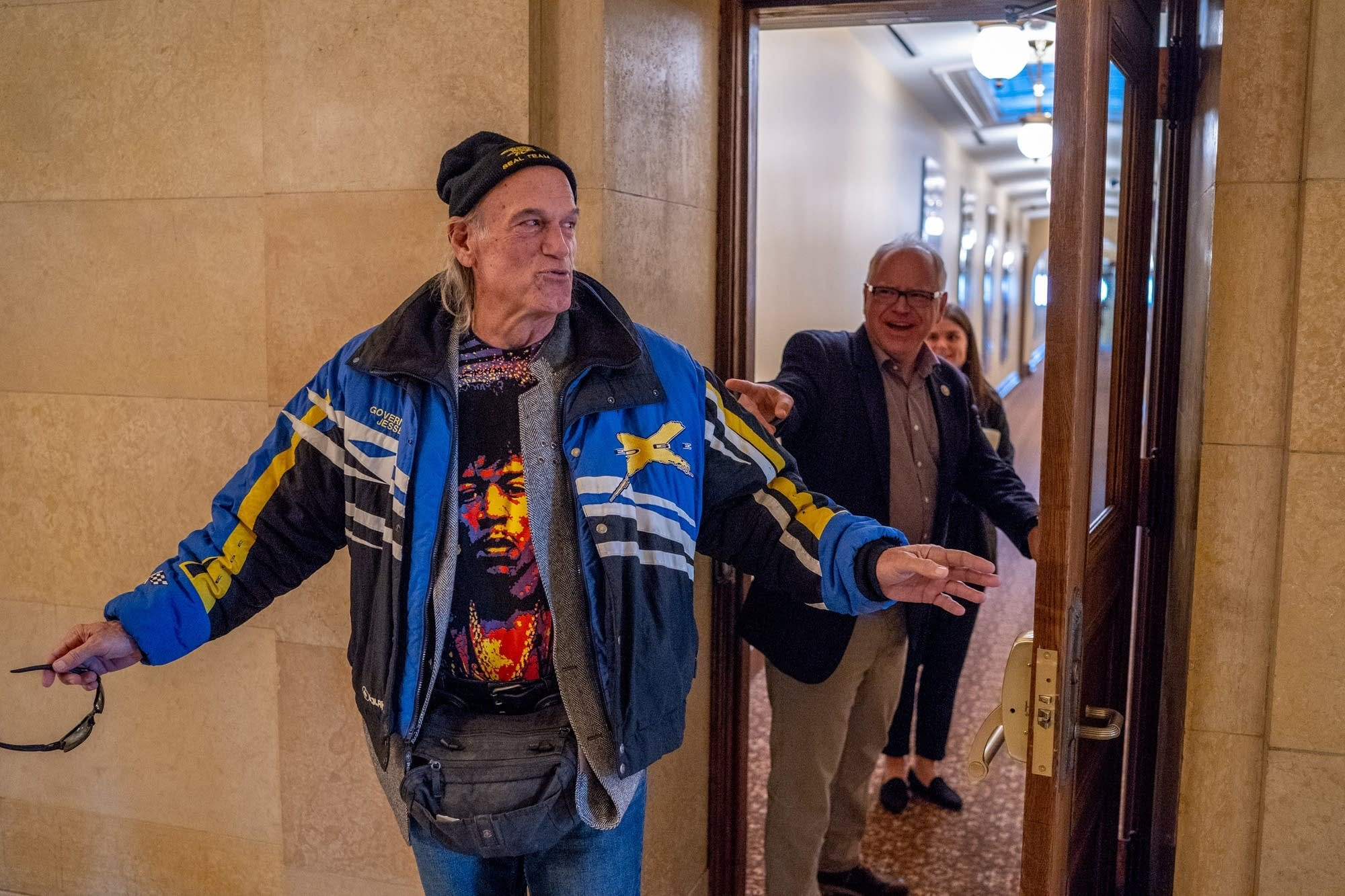 Gov-elect Walz talks pot with Jesse Ventura
