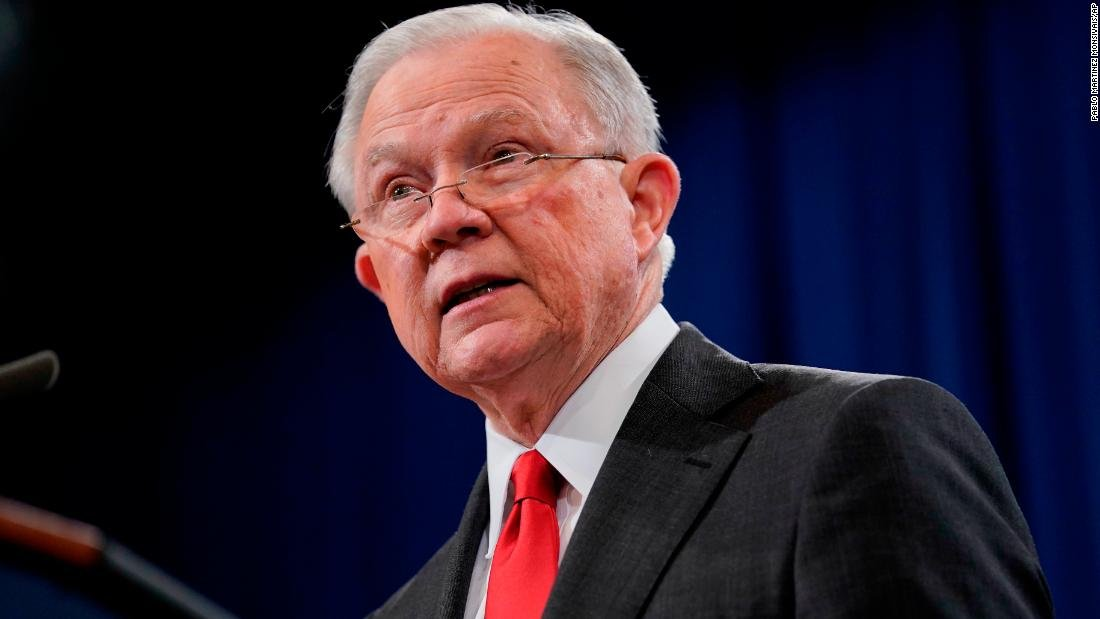 Jeff sessions out as attorney general