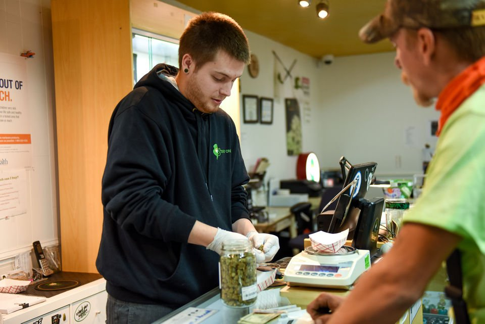 What happens in the workplace with legalized recreational marijuana?