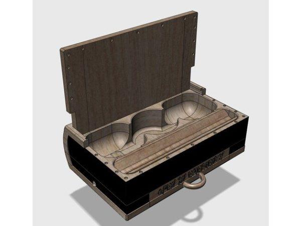 3d printable rolling box