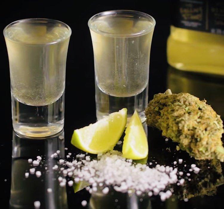 Marijuana Infused Tequila. Recipe+video