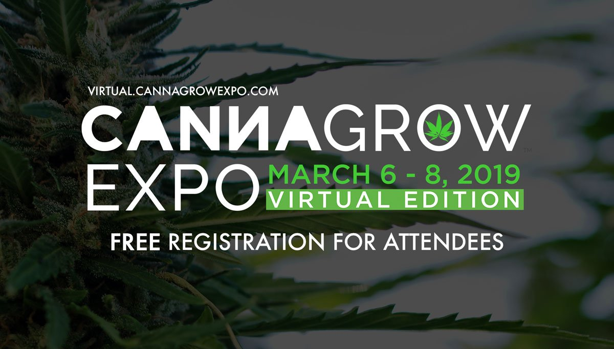 PSA: The 8th CannaGrow Expo is offering FREE tickets to their Virtual Edition before January 1. (Event happens March 6 - 8 online and is open to interested growers and extractors from anywhere in the world. Link to website)