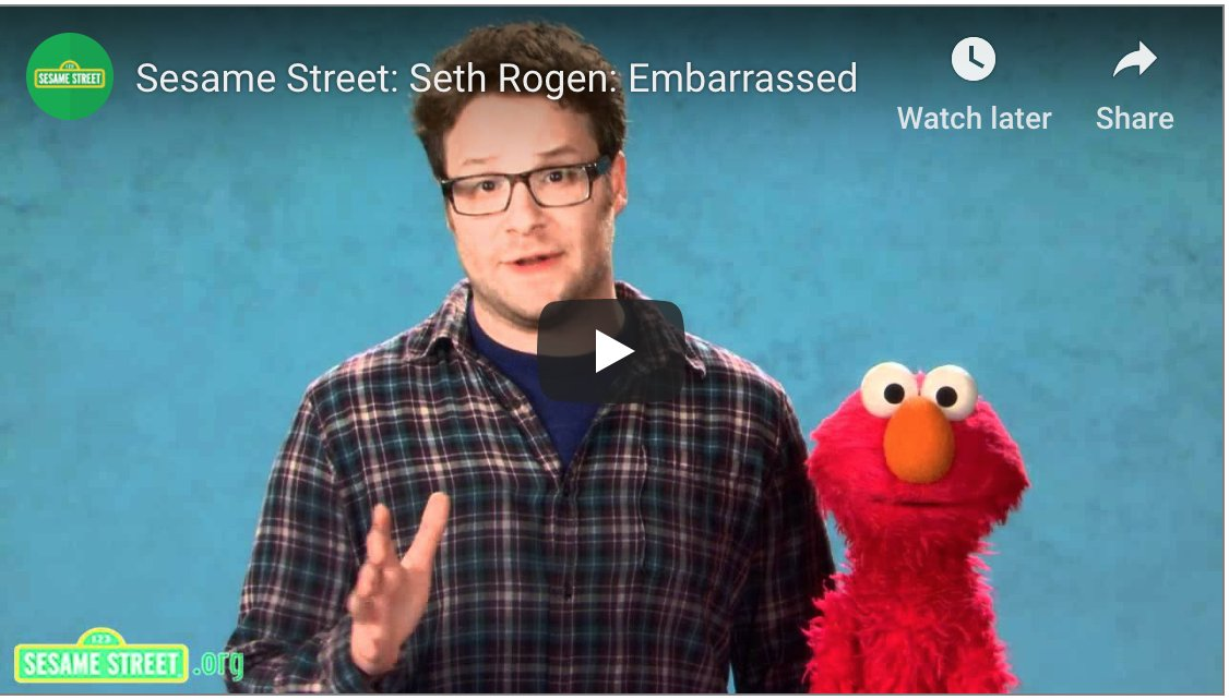 Seth Rogen Was on Sesame Street and Everyone Made Weed Jokes