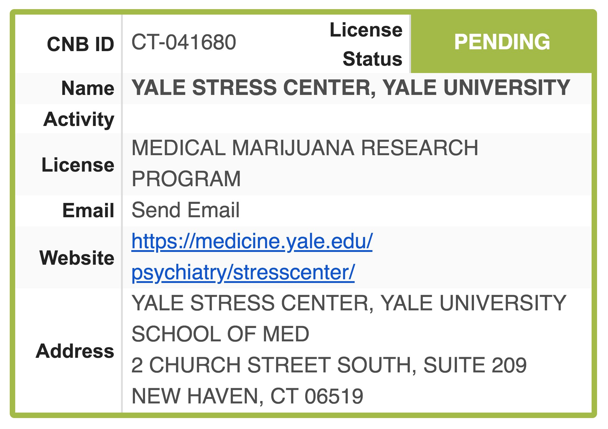 Yale enters the ring