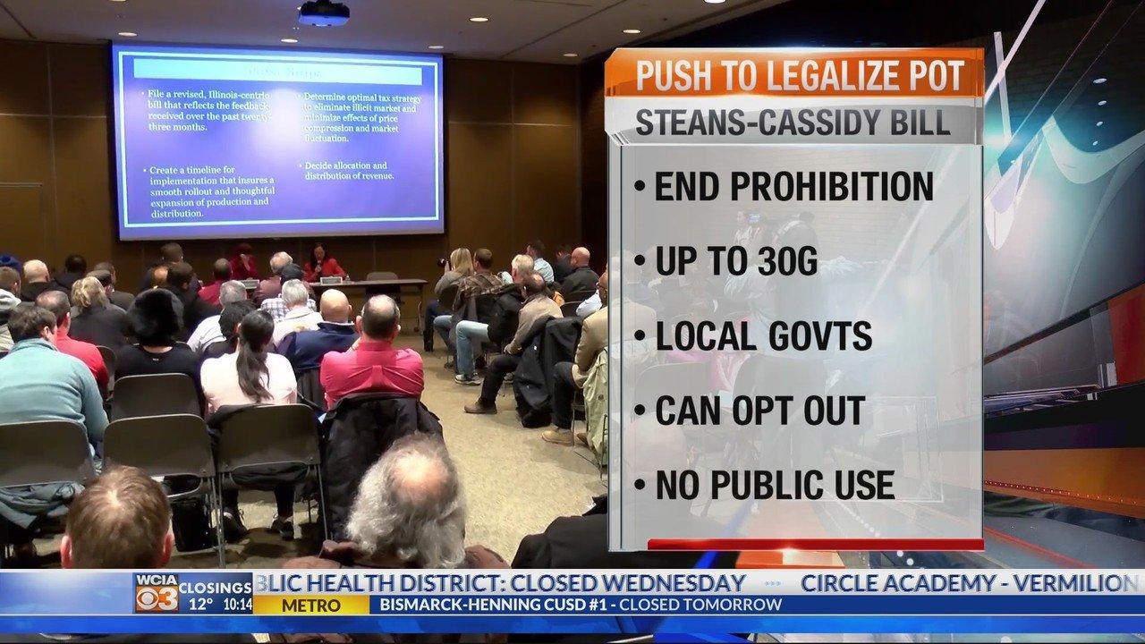 Advocates explain details in plan to legalize marijuana