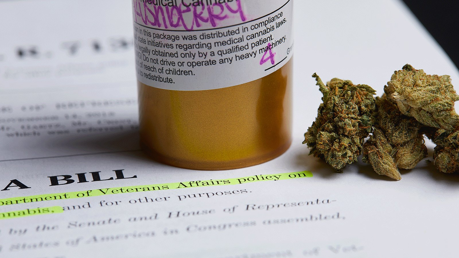 House Bill Would Direct Veterans Affairs to Research Medical Marijuana