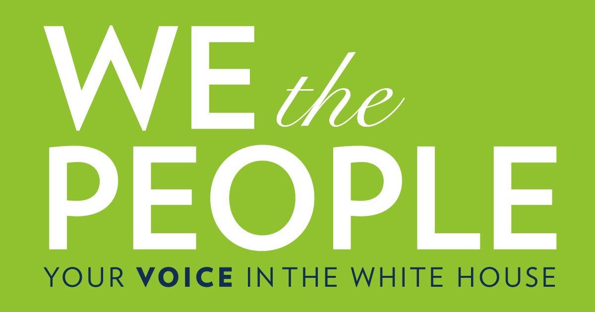 Seeking Help on a White House Petition