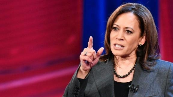 Kamala Harris voices support for marijuana legalization