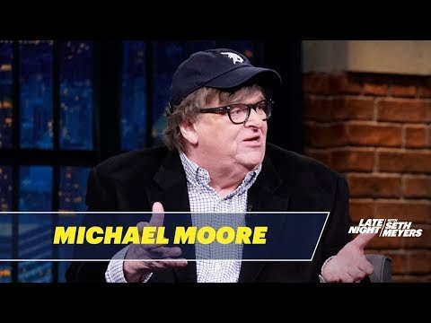 Michael Moore Would Deliver Joints to Every American if He Were president