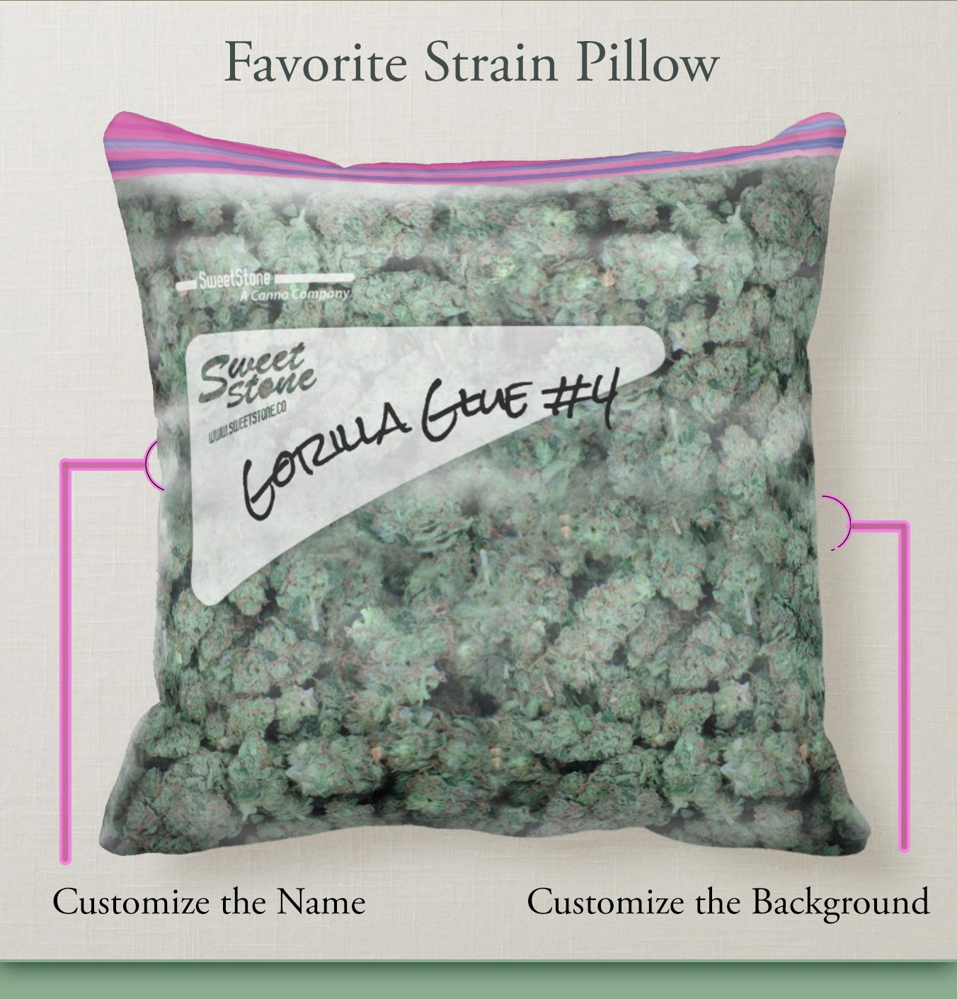 Pound of Weed Pillow haha