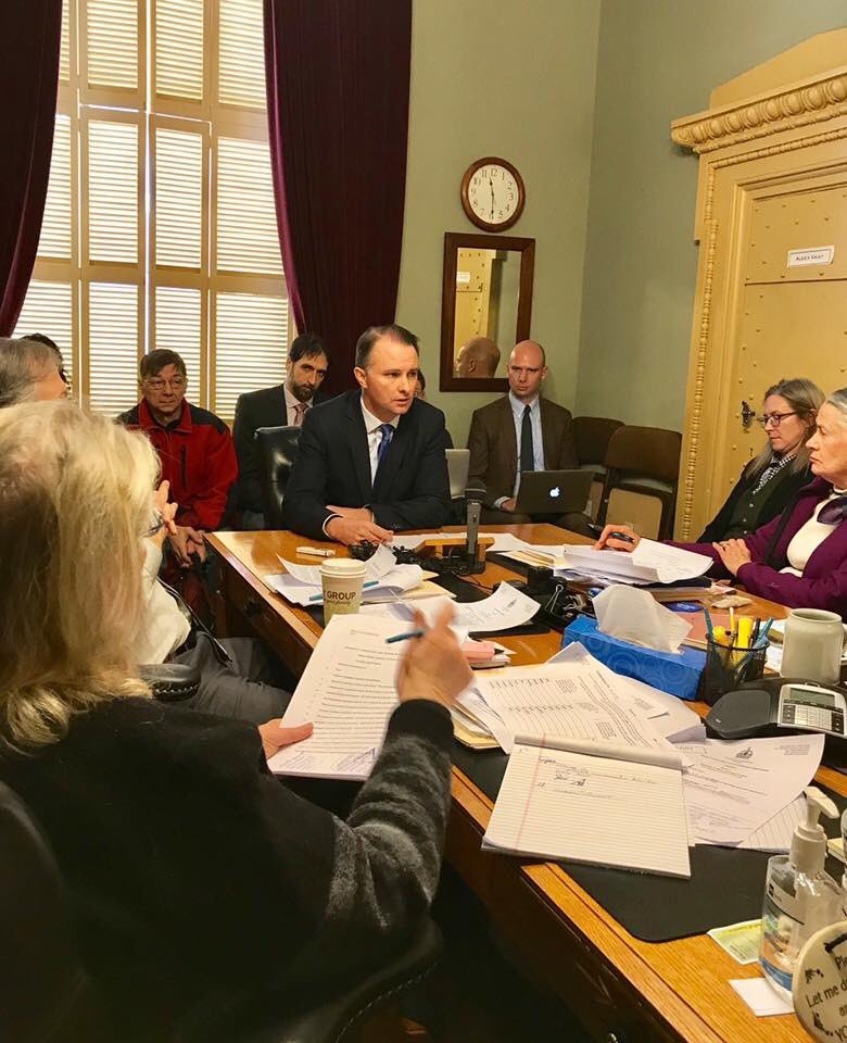 Vermont's State Attorney General endorsed legislation to legalize marijuana sales during a Senate Judiciary Committee hearing