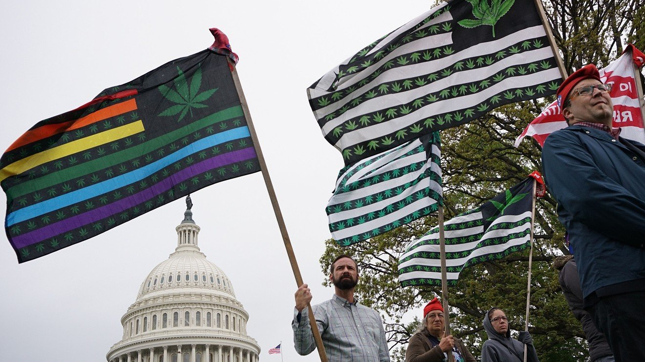Washington moves closer to delivering protections for banks that work with the pot industry