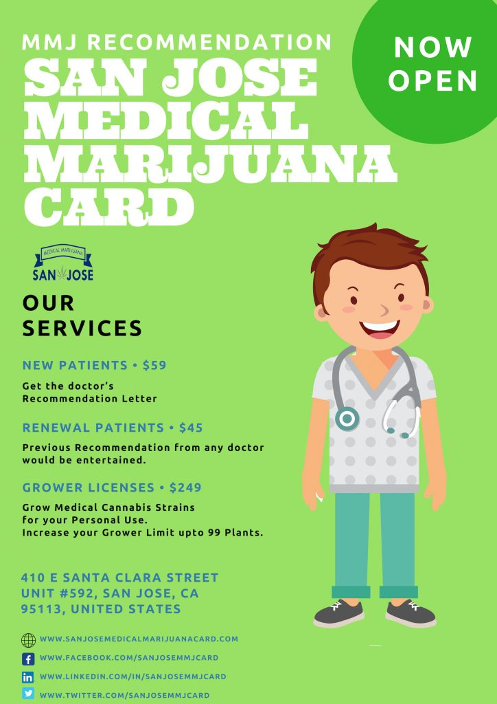 San Jose Medical Marijuana Card