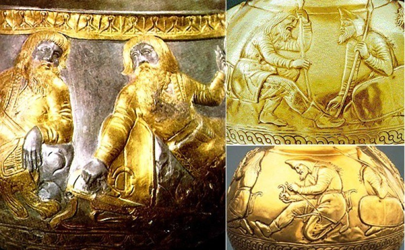 2,400-Year-Old Solid Gold Bongs Used by Kings to Smoke 'Cannabis' Found by Experts