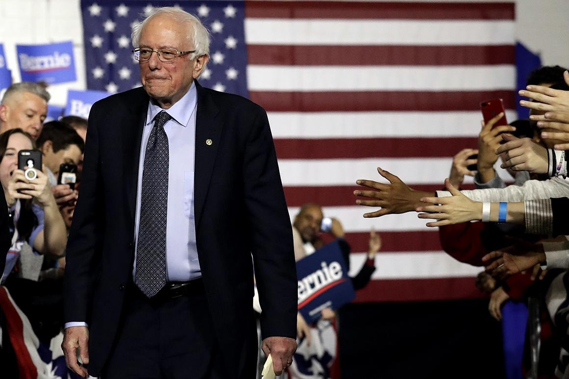 Bernie Sanders: 'Too many lives are being destroyed' by pot policy  Politico