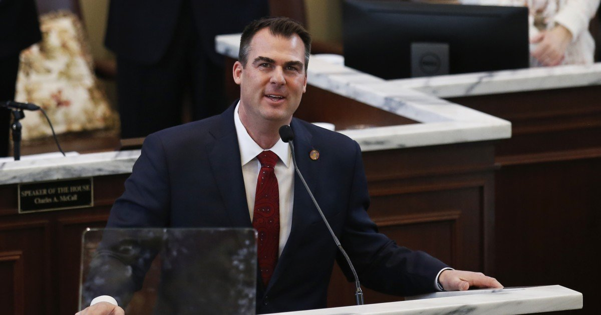 Oklahoma GOP governor signs medical marijuana rules into law