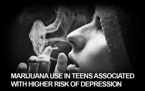 Teenage Marijuana Use Has Been Linked to Adult Depression in a Major New Review