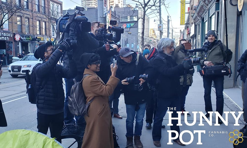 5th in line. My visit to The Hunny Pot Cannabis Store Review and Tour in Photos
