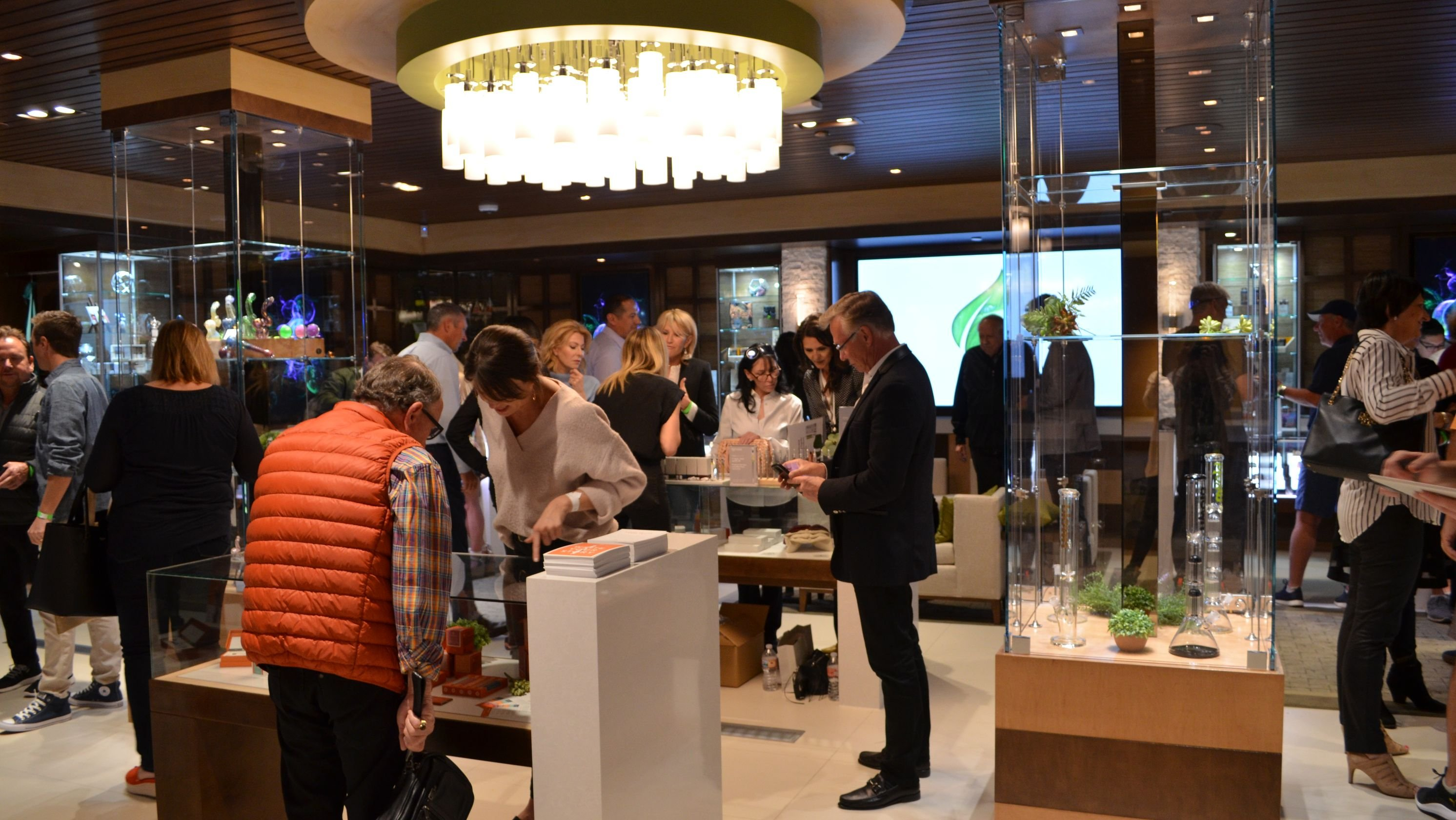 A pot shop opened in a posh California shopping district. Can it attract country club-goers?