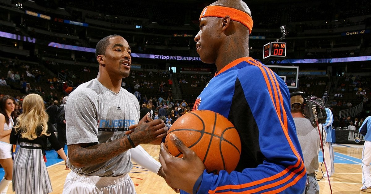 NBA players JR Smith and Al Harrington lobbied to legalize weed in NY