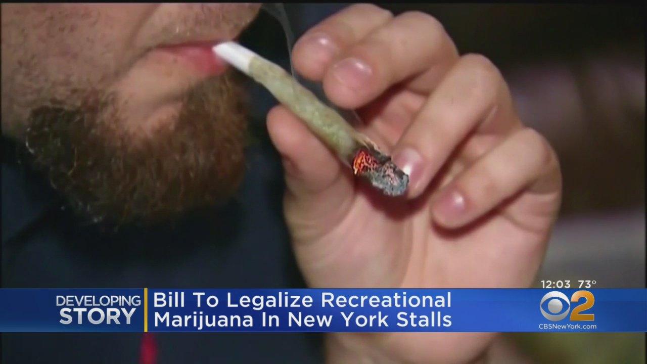 NY legal marijuana bill stalled