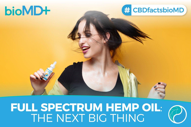 Full Spectrum Hemp Oil - What is it?