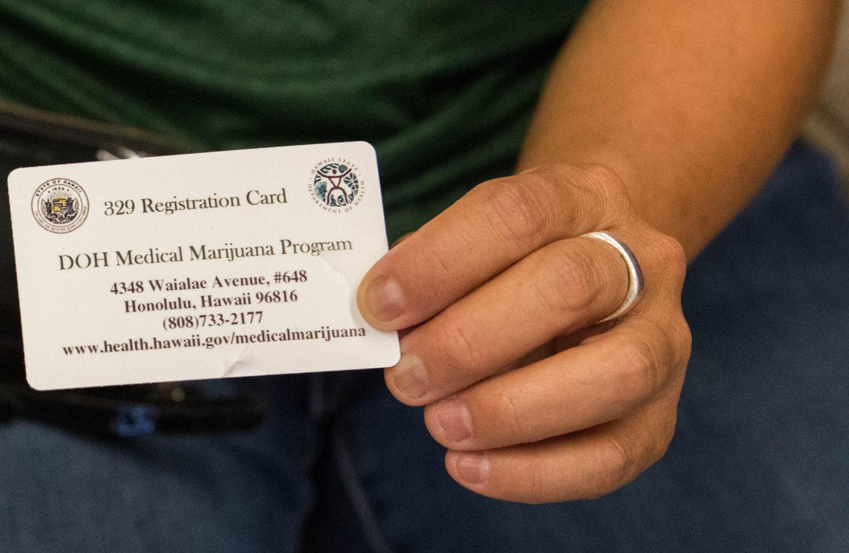 Hawaii medical cannabis patients can apply for two-year registration renewals starting Thursday, July 18.