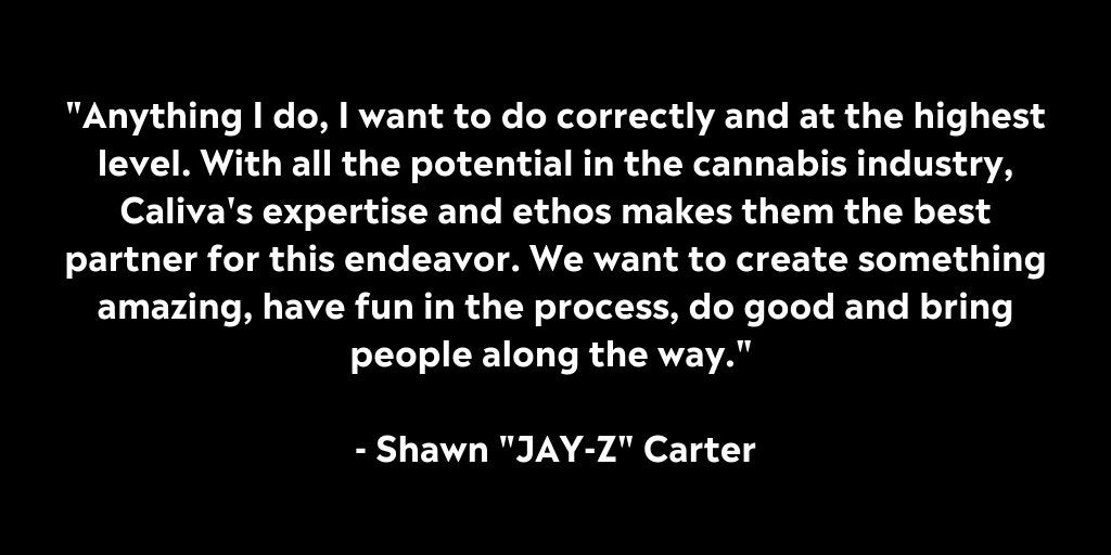 "Shawn ""Jay-Z"" Carter & Caliva Enter Long-term Partnership | Caliva"